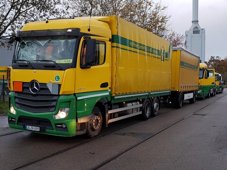 Häffner-LKW beim Ecotraining