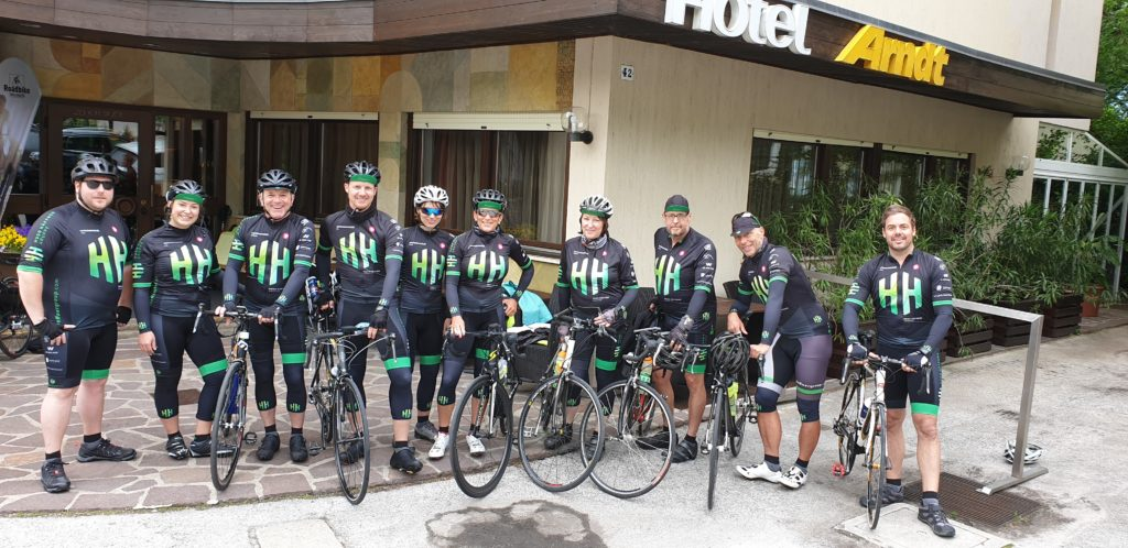 Häffner Bike-Team in Südtirol